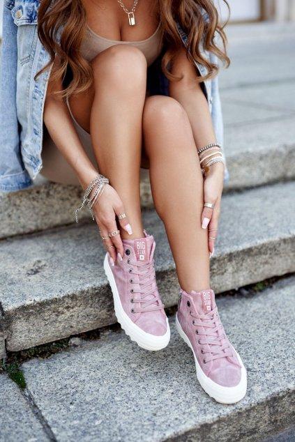 Dámske tenisky farba ružová kód obuvi GG274109 PINK