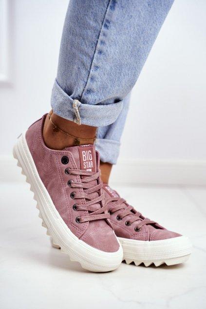Dámske tenisky farba ružová kód obuvi GG274111 PINK