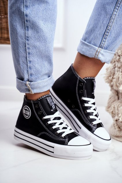 Dámske tenisky farba čierna kód obuvi GG274012 BLACK