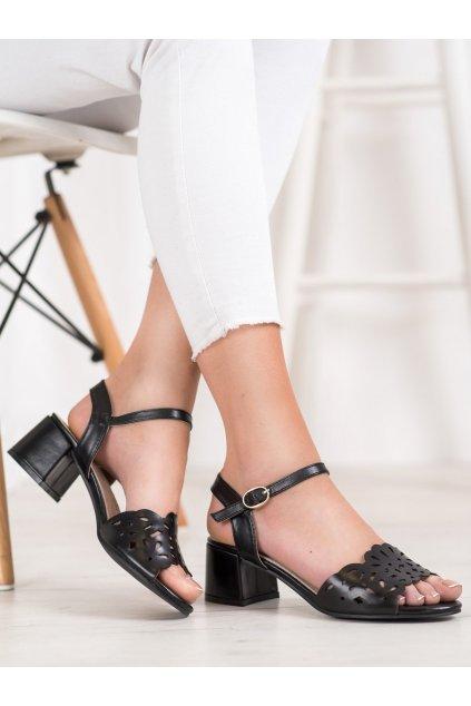 Čierne sandále Kylie kod K1951802NE NJSK K1951802NE