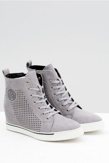 Sivá obuv kód topánok XW36236 GREY