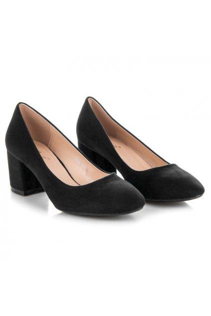 Čierne topánky Fama NJSK FM1089B
