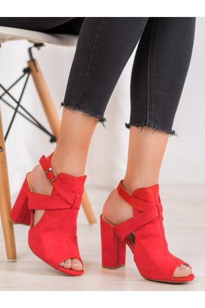 Červené sandále Seastar NJSK NS110R