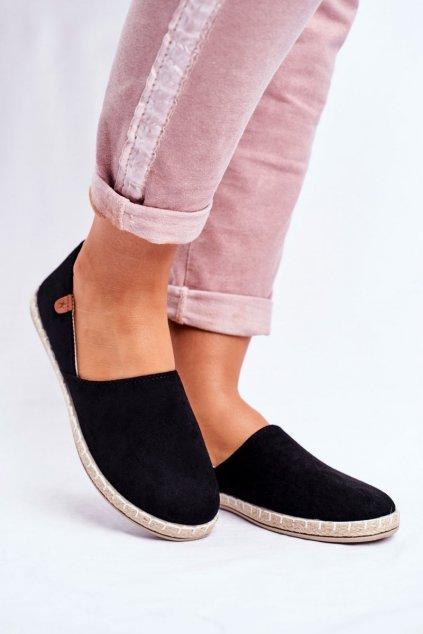 Dámske tenisky farba čierna kód obuvi 20TX02-2416 BLK