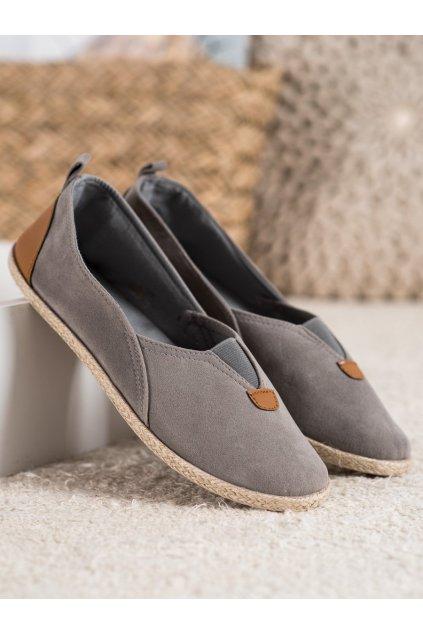Sivé topánky Shelovet kod WI-32-190G