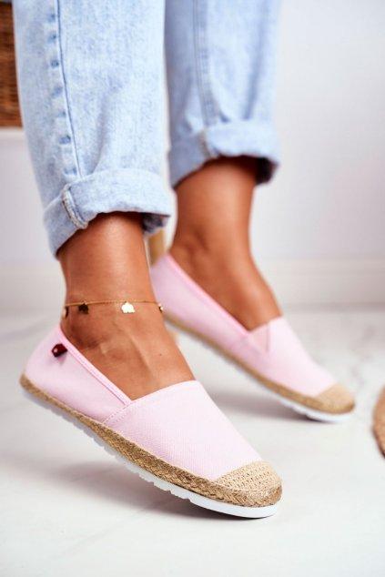 Dámske tenisky farba ružová kód obuvi DD274728 PINK
