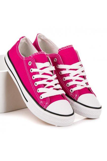 Ružové tenisky Shelovet NJSK JD05RO