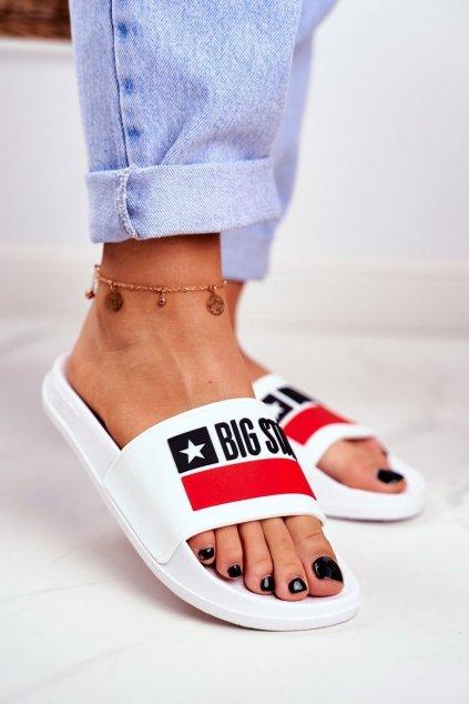 Dámske šľapky farba biela kód obuvi GG274A047 WHITE
