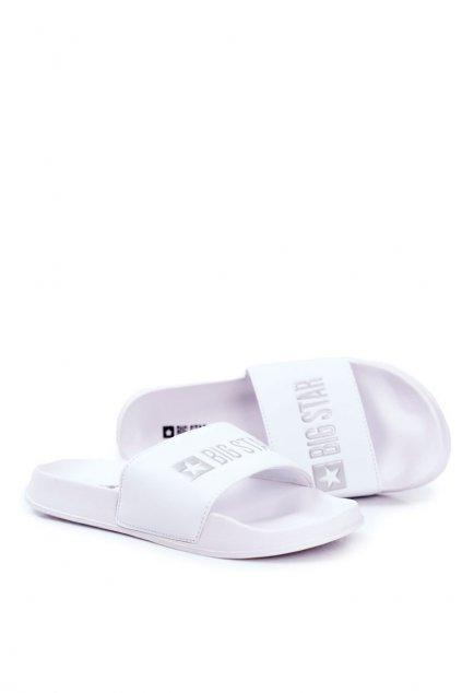 Pánske šľapky farba biela kód obuvi GG174935 WHITE