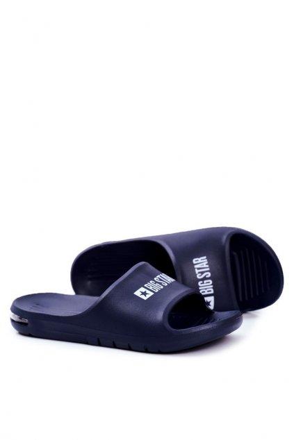 Pánske šľapky farba modrá kód obuvi GG174919 NAVY