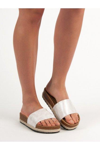 Sivé topánky Kylie NJSK K1952402PLA