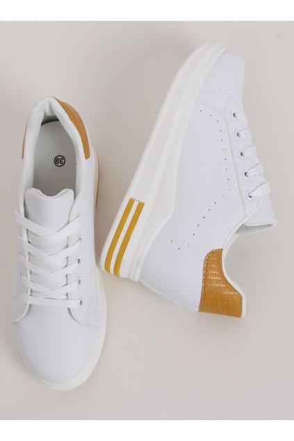 Dámske tenisky biele MY-0367