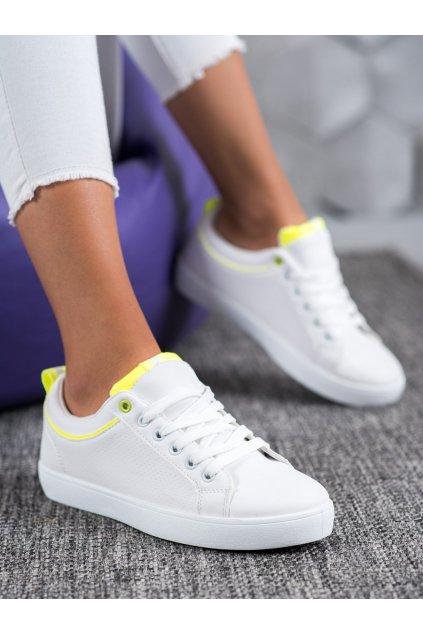 Biele tenisky Shelovet kod BO-501W/Y