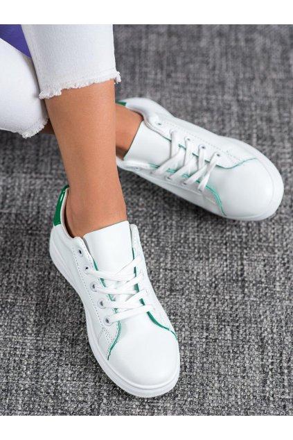 Biele tenisky Shelovet kod TS-511GR