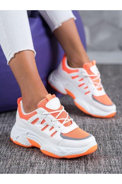 Oranžové tenisky Shelovet kod BH-001OR