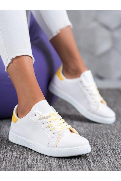 Žlté tenisky Shelovet kod 5G-2Y