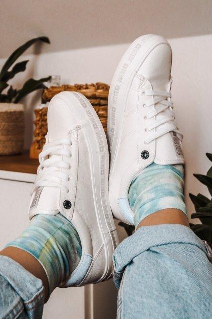 Dámske tenisky farba biela kód obuvi GG274194 WHITE