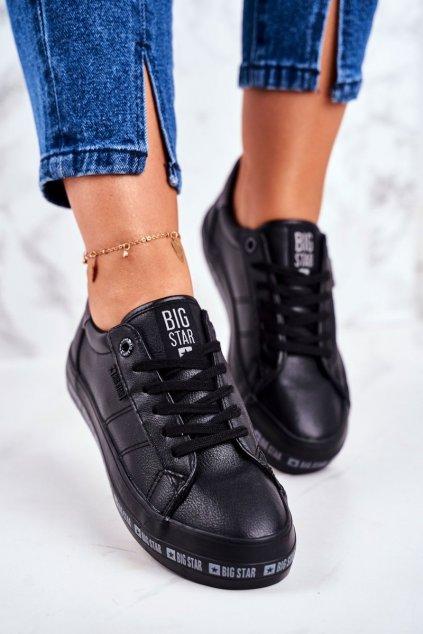 Dámske tenisky farba čierna kód obuvi GG274193 BLK