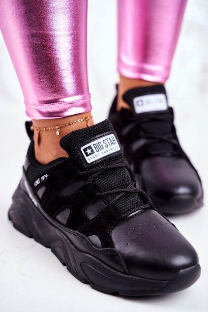 Dámske tenisky farba čierna kód obuvi GG274636 BLK
