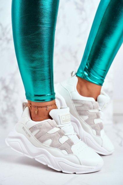 Dámske tenisky farba biela kód obuvi GG274635 WHITE