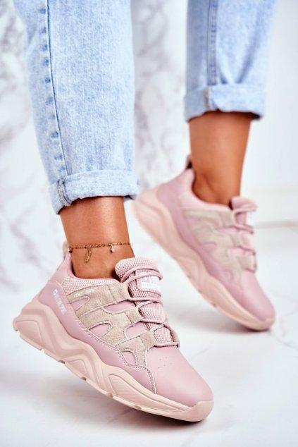 Dámske tenisky farba ružová kód obuvi GG274637 PINK