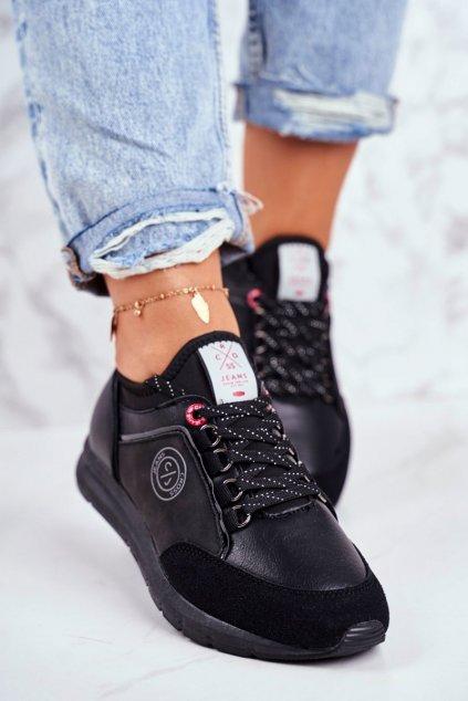 Dámske tenisky farba čierna kód obuvi GG2R4046C BLK