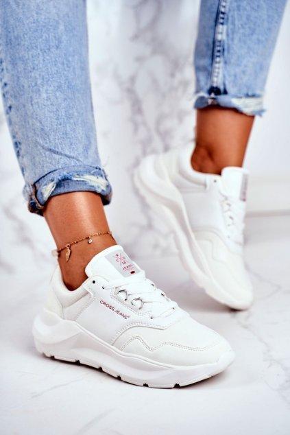 Dámske tenisky farba biela kód obuvi GG2R4042C WHITE