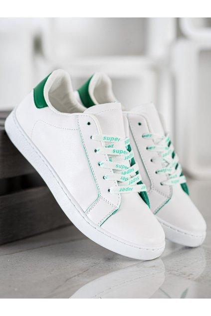 Biele tenisky NJSK 5G-2GR
