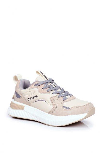 Hnedá obuv kód topánok GG174465 BEIGE