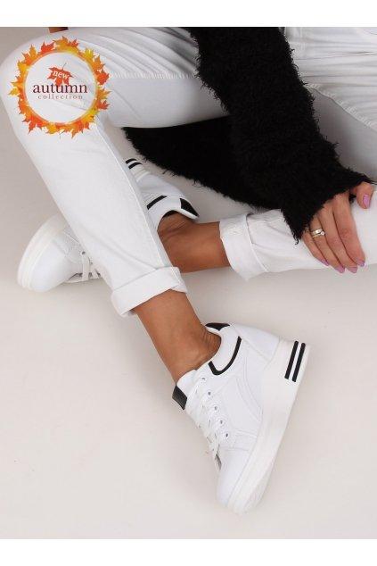 Dámske tenisky biele NJSK BY-0370