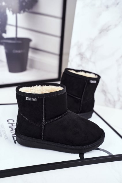 Detské snehule farba čierna kód obuvi GG374081 BLK