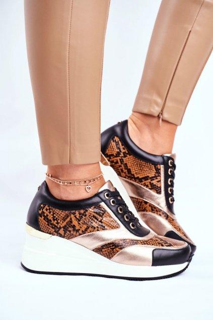 Dámske tenisky farba čierna kód obuvi GG2N3044 BLK