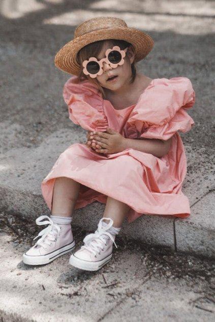 Ružová obuv kód topánok 80090 PINK