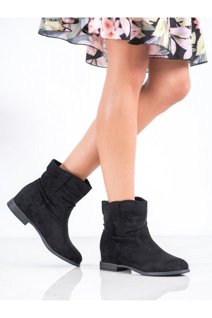 Čierne dámske topánky Kylie kod K1826601NE