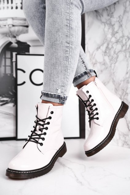 Biela obuv kód topánok 20BT35-3001 WHITE LAC