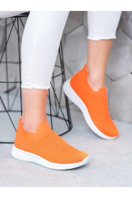 Oranžové tenisky Shelovet NJSK BB71OR