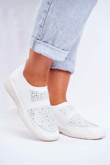 Biela obuv NJSK NB257 WHITE