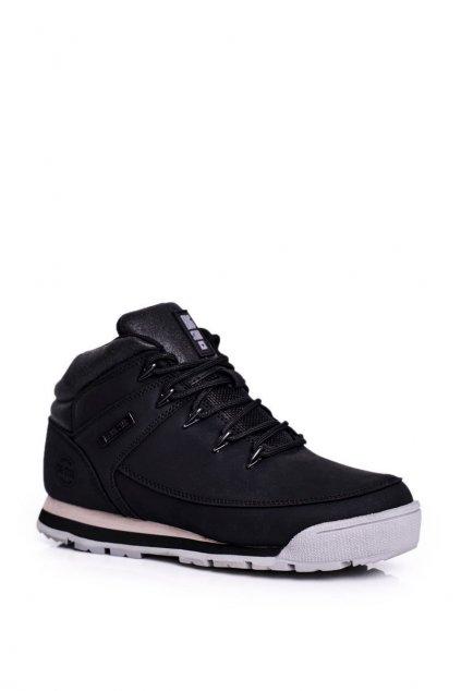 Dámske trekové topánky farba čierna kód obuvi GG274498 BLK
