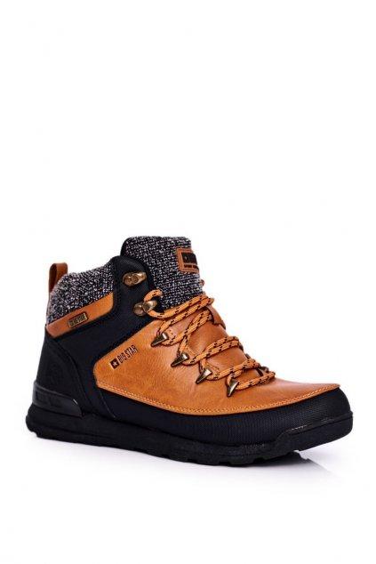 Dámske trekové topánky farba hnedá kód obuvi GG274619 CAMEL