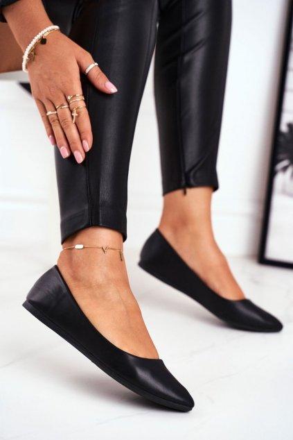 Čierna obuv kód topánok CD53P BLK
