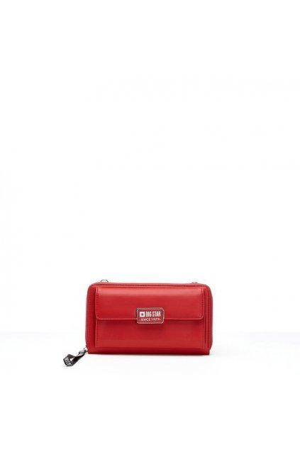 Dámska kabelka červená kód kabelky GG674008 RED