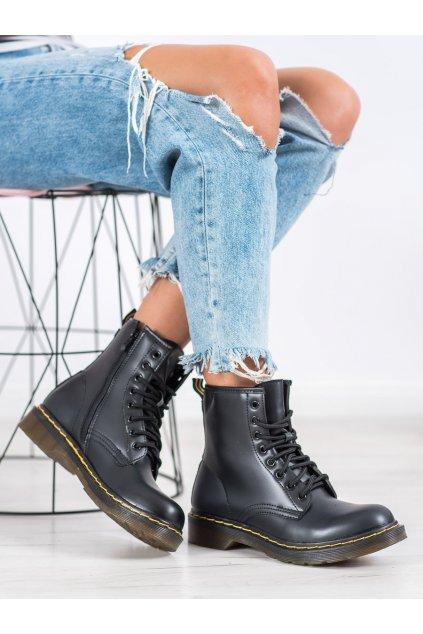 Čierne dámske topánky Seastar NJSK NC1019B