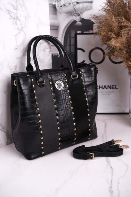 Dámska kabelka čierna kód kabelky BAG4590-020 BLACK
