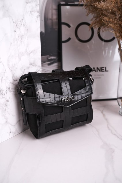 Dámska listová kabelka čierna kód kabelky NBAG-J4107-C020 BLK