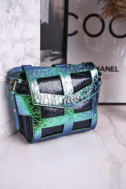 Dámska listová kabelka zelená kód kabelky NBAG-J4106-C008 ZIELONY