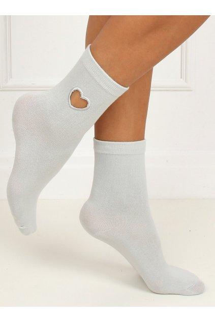 Damske ponožky sivé SK-NPX95