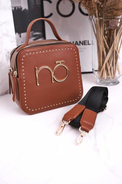 Dámska listová kabelka hnedá kód kabelky NBAG-J0860-C017 BRĄZOWY