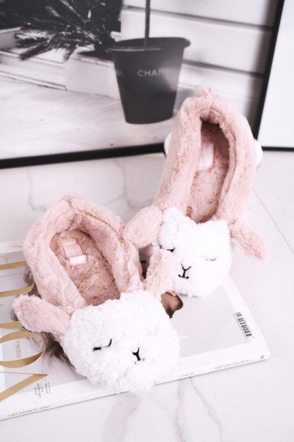Dámske šľapky farba ružová kód obuvi MD1246 PINK