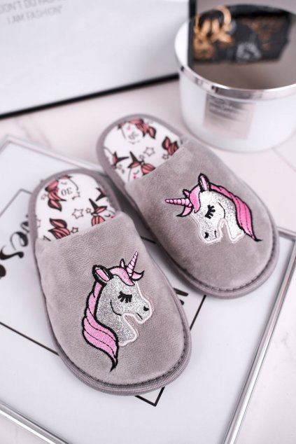 Detské šľapky farba sivá kód obuvi EVENTO 3365 GREY