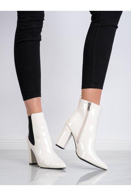 Biele dámske topánky Yes mile kod K231BE